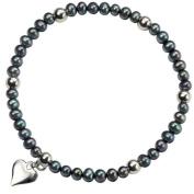 Sterling Silver Freshwater Pearl Set Bracelet