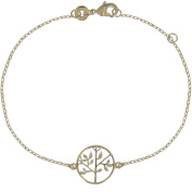 Les Poulettes Jewels - Bracelet Tree of Life Gold Plated