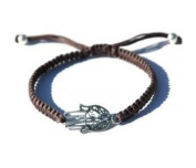 Men's Adjustable Hamsa Bracelet for Good Luck and Protection by MIZZE
