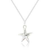 Silver Star Pendant and Chain