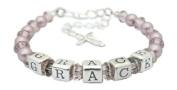 Classic Pearl Vintage Christening Bracelet - 1st Holy Communion