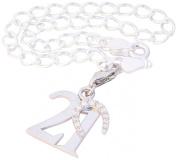 21st Birthday Gift - Sterling Silver Charm Bracelet
