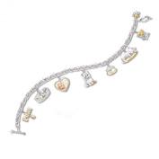 Purr-fect Companion Cat Charm Bracelet