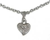 Mia Gioielli - Diamond Bracelet , white 18ct gold bracelet , with Diamonds 1.5pts G/VS , 18 cm, Heart, F-08956-0B00