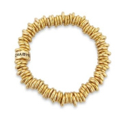 Argent Of London 18Ct Gold Plated Stretch Ring Bracelet Strung On Nylon