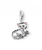 Dream Charms and Silver Jewellery Tiger Cat Charm