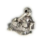 Charm Pendant Dog Shih Tzu 925 Sterling Silver