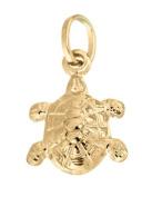 9ct Yellow Gold Turtle Charm Pendant