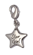 Jodie Rose Rhodium Plated Charm