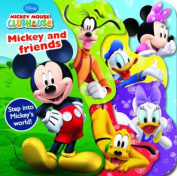 Disney Junior Mickey Mouse Clubhouse - Mickey and Friends [Board book]