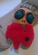 Vudu Doll Key Chain Collection - Doll and Red Bunny -12 of 30