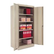 "72"" High Standard Cabinet, 36w x 24d x 72h, Putty"