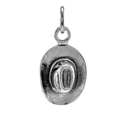 TheCharmWorks Sterling Silver Cowboy Hat Charm