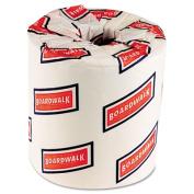 One-Ply Toilet Tissue, 1000 Sheets, White, 96 Rolls/Carton