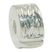 1 x Clip Stopper Charm Bead, clip into place and stops charm beads falling off.