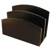 Artistic™ Eco-Friendly Bamboo Curves Letter Sorter, 7 1/8 x 3 1/4 x 5 1/8