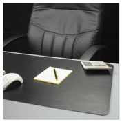 ES Robbins 120792 ES Robbins Natural Origins Desk Pad, 19 x 12, Matte, Black