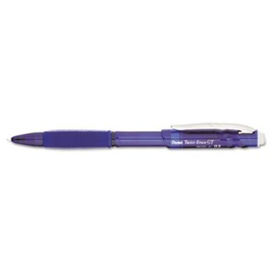 Twist-Erase GT Pencils, 0.5 mm, Blue