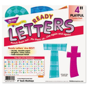 """Ready Letters Playful Combo Pack, Assorted Colors, 4"""", 216 per Pack"""