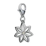Hot Diamonds Flora Silver And Diamond Charm
