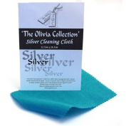 TOC Silver Jewellery Cleaning & Polishing Cloth X 1 (single) 115mm x 165mm