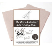 TOC Gold Jewellery Cleaning & Polishing Cloth X2