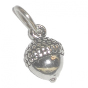Acorn tiny sterling silver charm Tiny - SSELP20-005