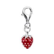 Jo for Girls - Strawberry Clip On Charm