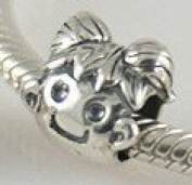 Girl Child - Sterling Silver Charm Bead - fits Pandora, Chamilia etc style Bracelets - SpangleBead
