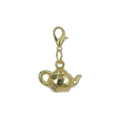 Charm tea-pot in Gold plated 18K by Charm's Goldline