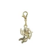 Charm angel Gold plated 18K & Zirconium by Charm's Goldline