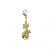 Charm cat in Gold plated 18K by Charm's Goldline