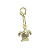 Charm turtle in Gold plated 18K by Charm's Goldline
