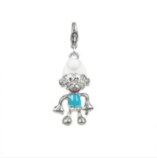 Charm leprechaun in steel by Charming Charms