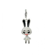 Charm rabbit in steel by Charming Charms