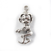 925 Sterling Silver Charm - Lucky Pixie - FREE UK POSTAGE