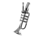 TheCharmWorks Sterling Silver Trumpet Charm