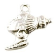 CLASSIC DESIGNS Sterling Silver 925. Nubian Queen Charm N367