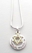 Star Of David Shema Israel Necklace And Pendant