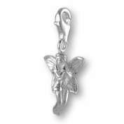 MELINA Charms clip on pendant fairy sterling silver 925