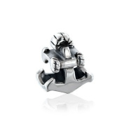 Bling Jewellery 925 Sterling Silver Nautical Anchor Charm Bead .