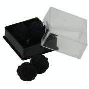 Mono Shade Silk Knot Cufflinks   Cuffs & Co