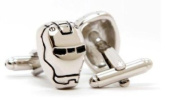 Iron Man 2 Silver Cufflinks