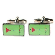 High Quality Rectangular Snooker Table Cufflinks