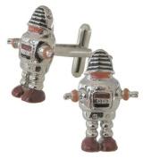 Robot Cufflinks - Robbie Planet Cufflink design