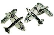 Spitfire Plane Cufflinks