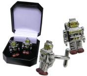 B Movie - Robot Cufflinks