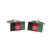 X2BOCF071 - Afghanistan Flag Cufflinks