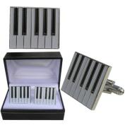 Keyboard Cufflinks - Musician Piano Octave cufflink design