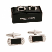 Harvey Makin Rhodium Plated Console Playstation PSP Cufflinks